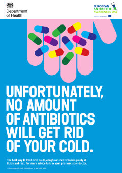 antibiotics 2015 poster